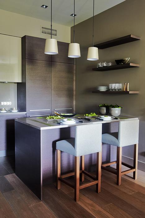Квартира. кухня из проекта , фото №28021