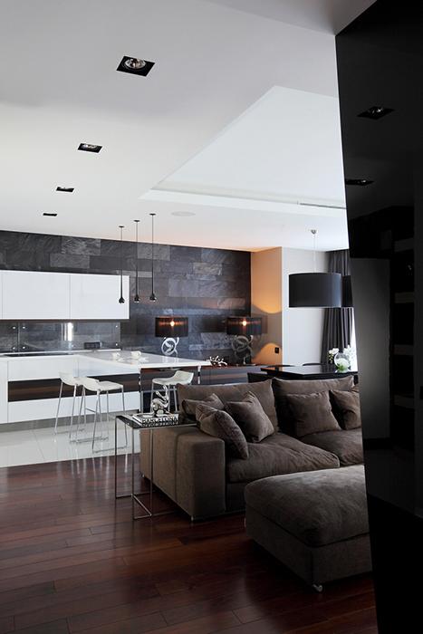 интерьер гостиной - фото № 28121