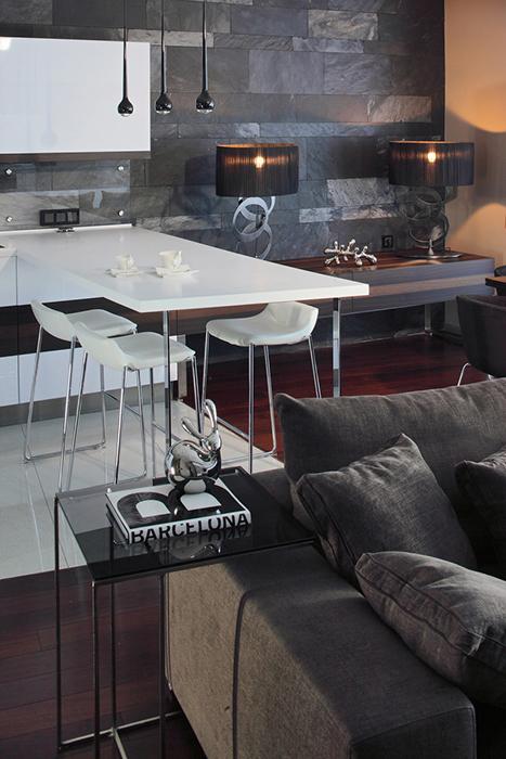 Квартира. кухня из проекта , фото №28123