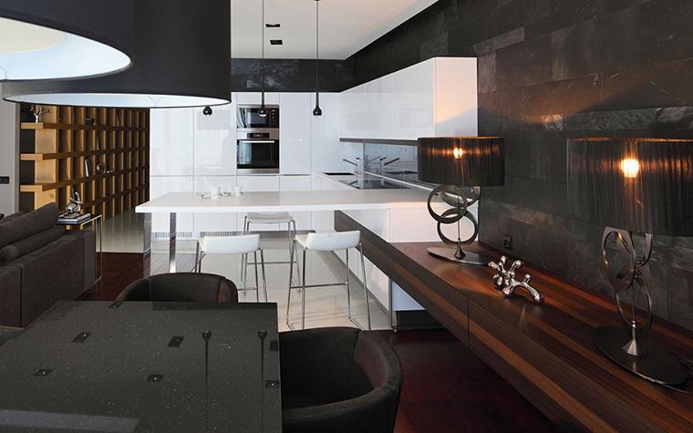 Квартира. кухня из проекта , фото №28124