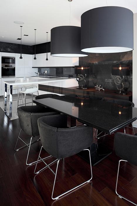 Квартира. столовая из проекта , фото №28126