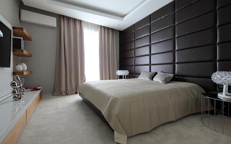 Квартира. спальня из проекта , фото №28127