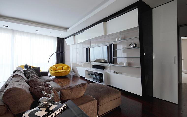 интерьер гостиной - фото № 28117