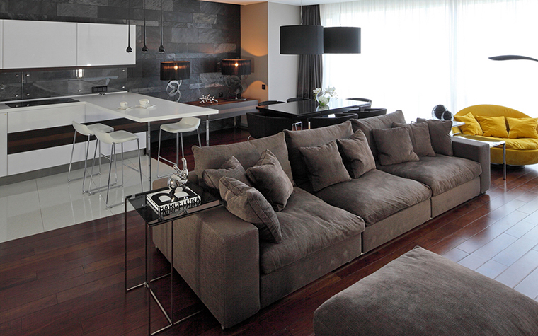 интерьер гостиной - фото № 28118