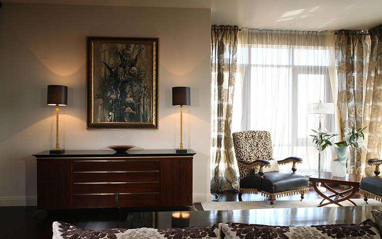 Фото № 28215 гостиная  Квартира