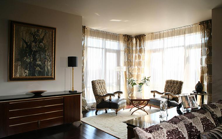 Фото № 28216 гостиная  Квартира