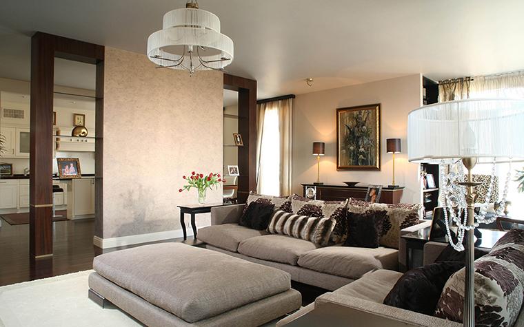 Фото № 28217 гостиная  Квартира