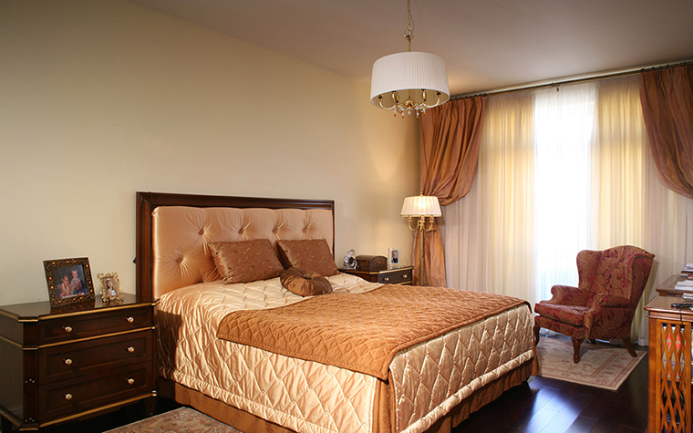 интерьер спальни - фото № 28221