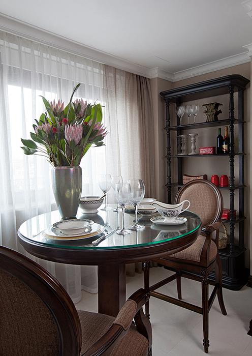 Квартира. столовая из проекта , фото №28235