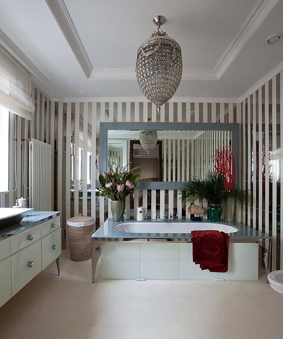 Квартира. ванная из проекта , фото №28237