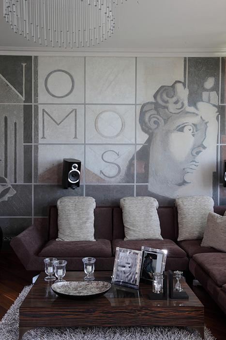 Фотообои на стену в интерьере