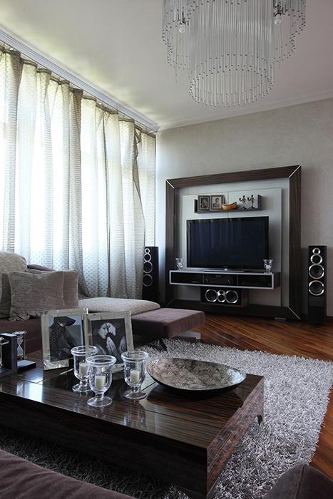 интерьер гостиной - фото № 28249