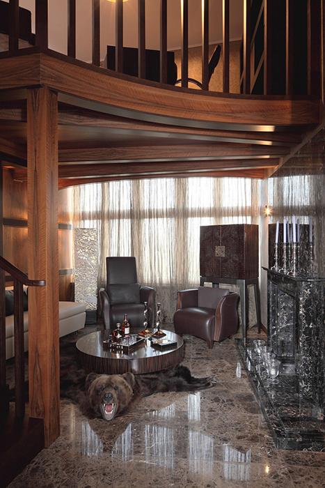 интерьер гостиной - фото № 28246