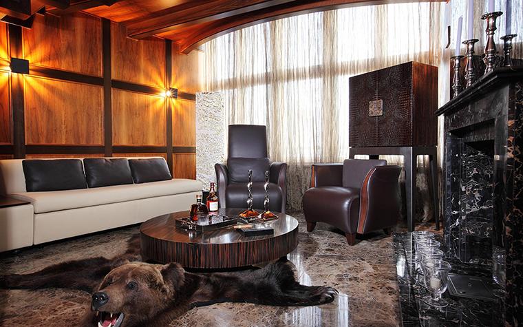 интерьер гостиной - фото № 28247