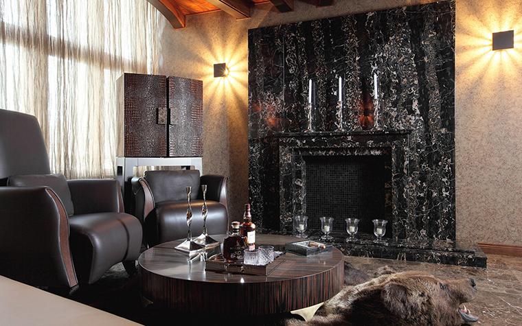 интерьер гостиной - фото № 28248
