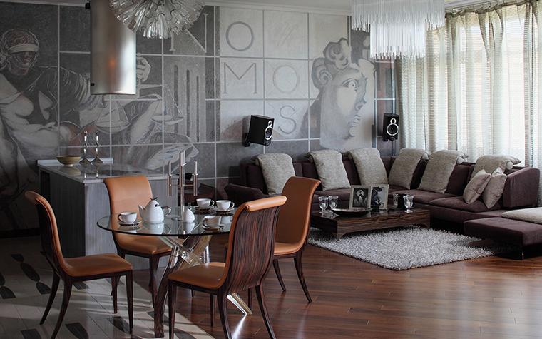 интерьер гостиной - фото № 28243
