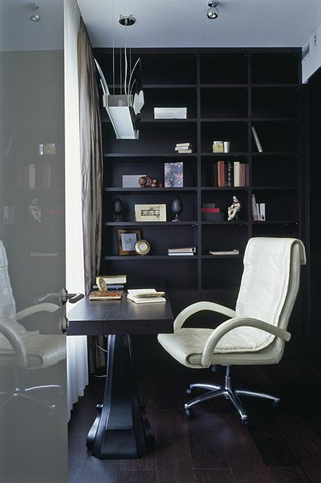 Квартира. кабинет из проекта , фото №28274