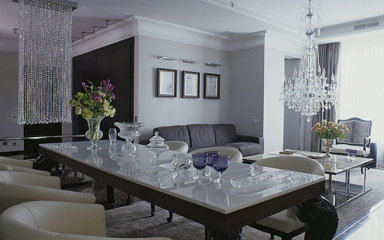 Квартира. гостиная из проекта , фото №28268