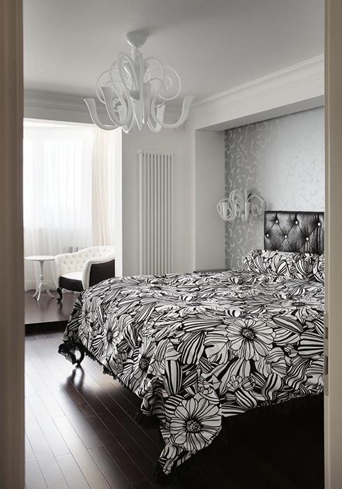 Квартира. спальня из проекта , фото №28388