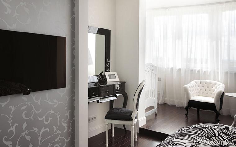 Квартира. спальня из проекта , фото №28390