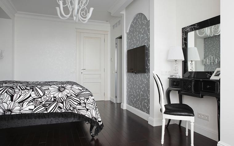 Квартира. спальня из проекта , фото №28391