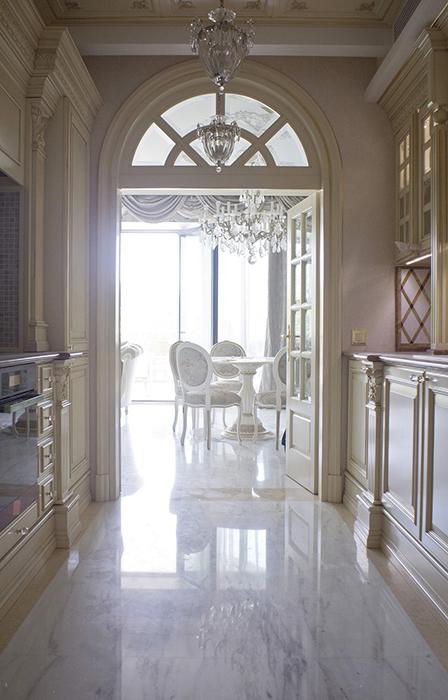 Квартира. кухня из проекта , фото №28440