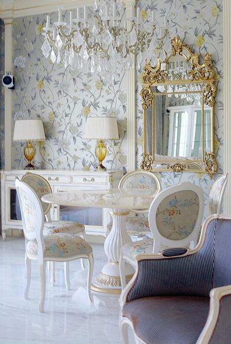 Квартира. столовая из проекта , фото №28439