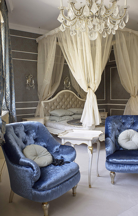 интерьер спальни - фото № 28443