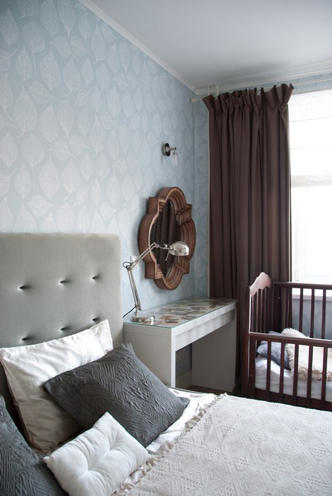 Квартира. спальня из проекта , фото №28470