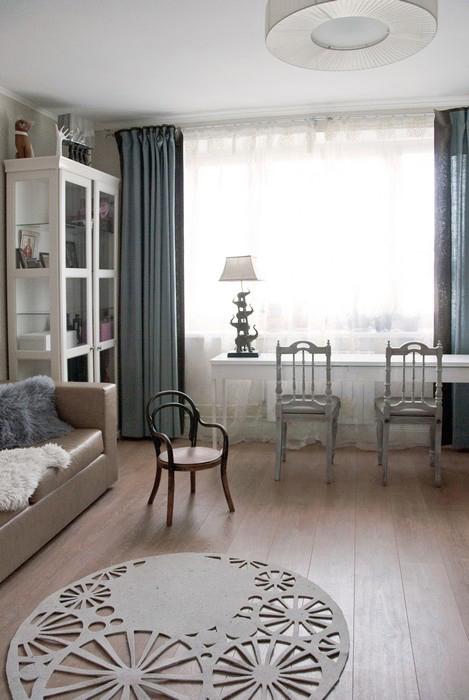 интерьер гостиной - фото № 28462