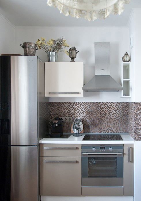 Квартира. кухня из проекта , фото №28465