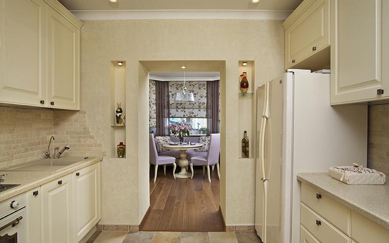 Квартира. кухня из проекта , фото №28485
