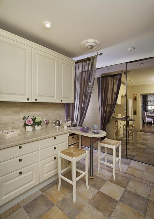 Квартира. кухня из проекта , фото №28486