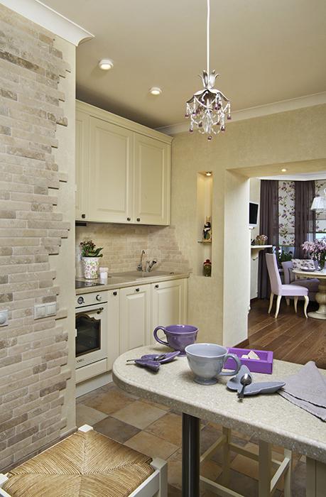 Квартира. кухня из проекта , фото №28531