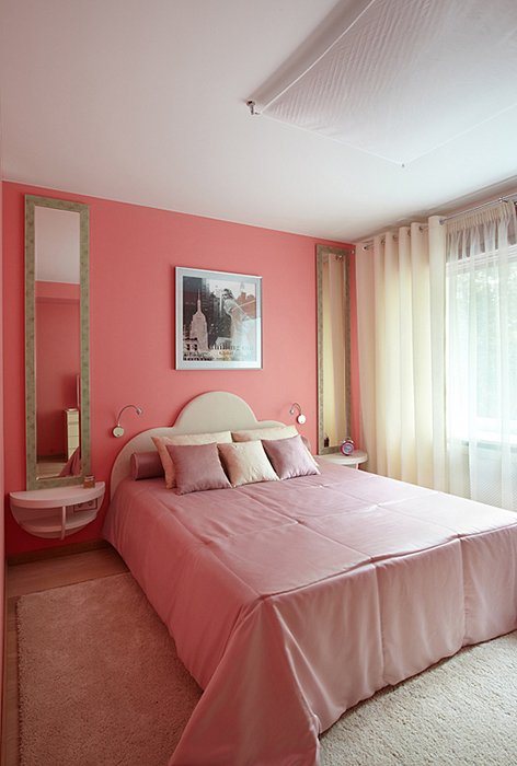 Квартира. спальня из проекта , фото №28519