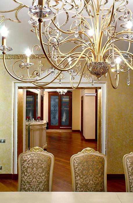 Квартира. столовая из проекта , фото №28583