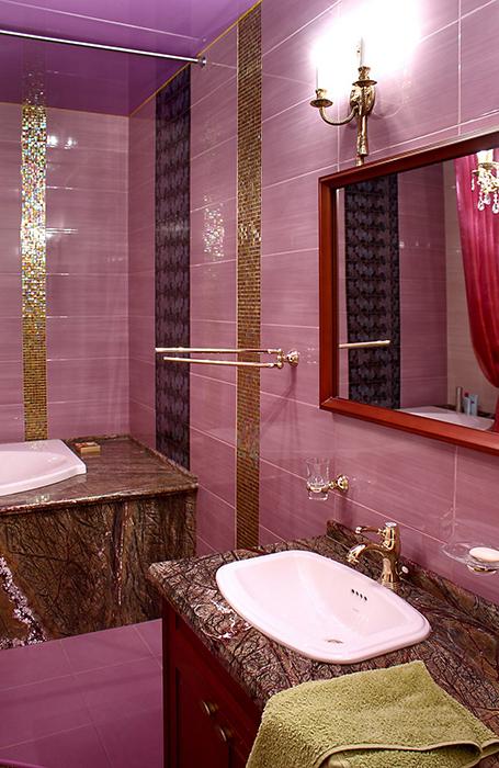 Квартира. ванная из проекта , фото №28588
