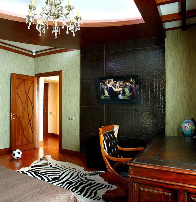 интерьер спальни - фото № 28577