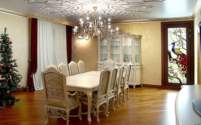 Квартира. столовая из проекта , фото №28582