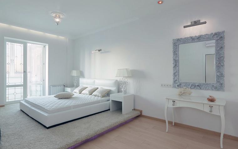 Квартира. спальня из проекта , фото №28663