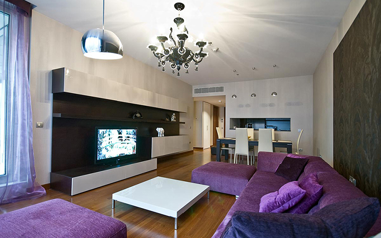 Фото № 28680 гостиная  Квартира