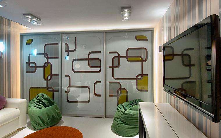 Квартира. гостиная из проекта , фото №28690