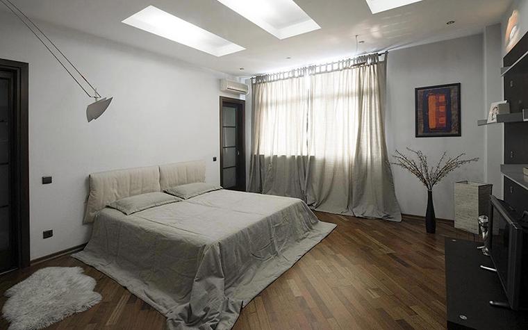 Квартира. спальня из проекта , фото №28722