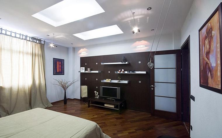Квартира. спальня из проекта , фото №28723