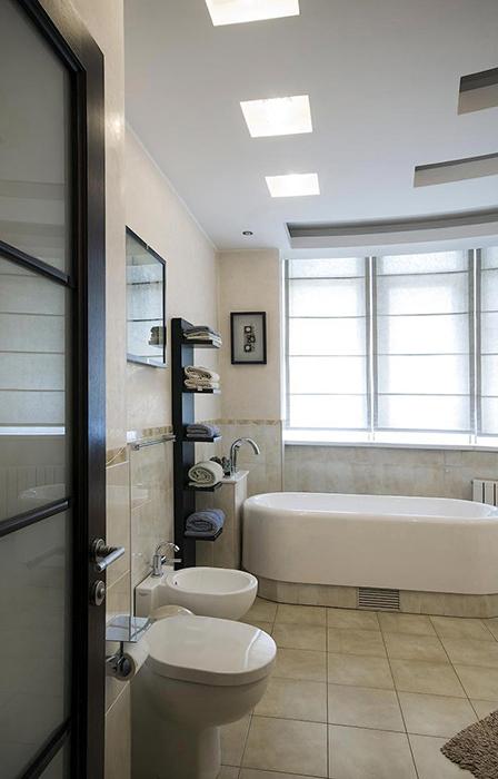 Квартира. ванная из проекта , фото №28729