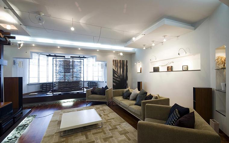Квартира. гостиная из проекта , фото №28717