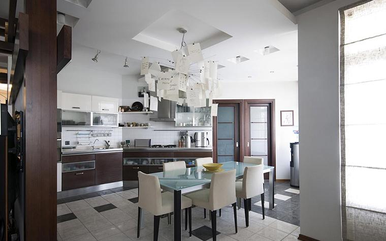Квартира. кухня из проекта , фото №28720
