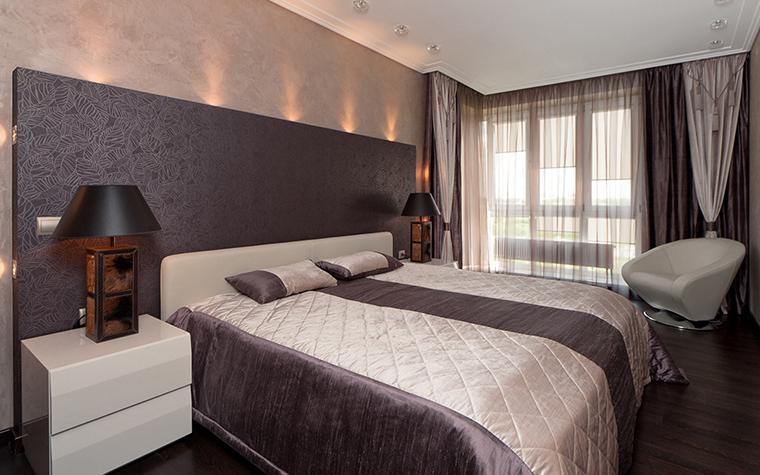 Квартира. спальня из проекта , фото №28739