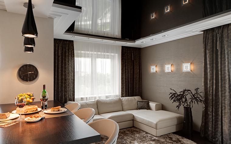 Квартира. гостиная из проекта , фото №28744