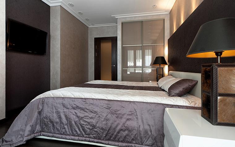 Квартира. спальня из проекта , фото №28740